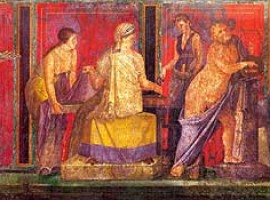 Villa der Mysterien Pompeji