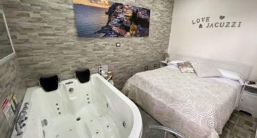 Pompeji-Zimmer mit Whirlpool