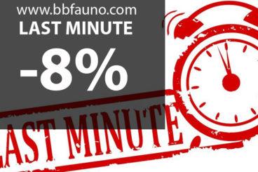 LETZTE MINUTE -8%
