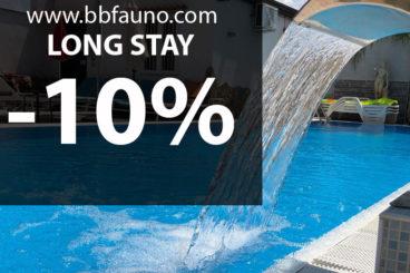 LANGER AUFENTHALT -10%