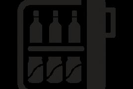 Minibar (freies Wasser)