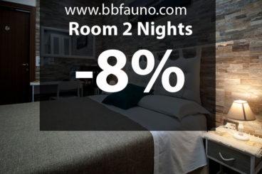 Zimmer 2 Nächte -8%