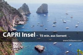 Capri - 15 Minuten von Sorrent entfernt