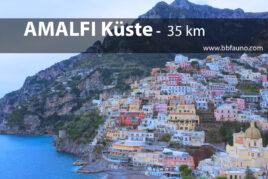 Amalfiküste - 35 km