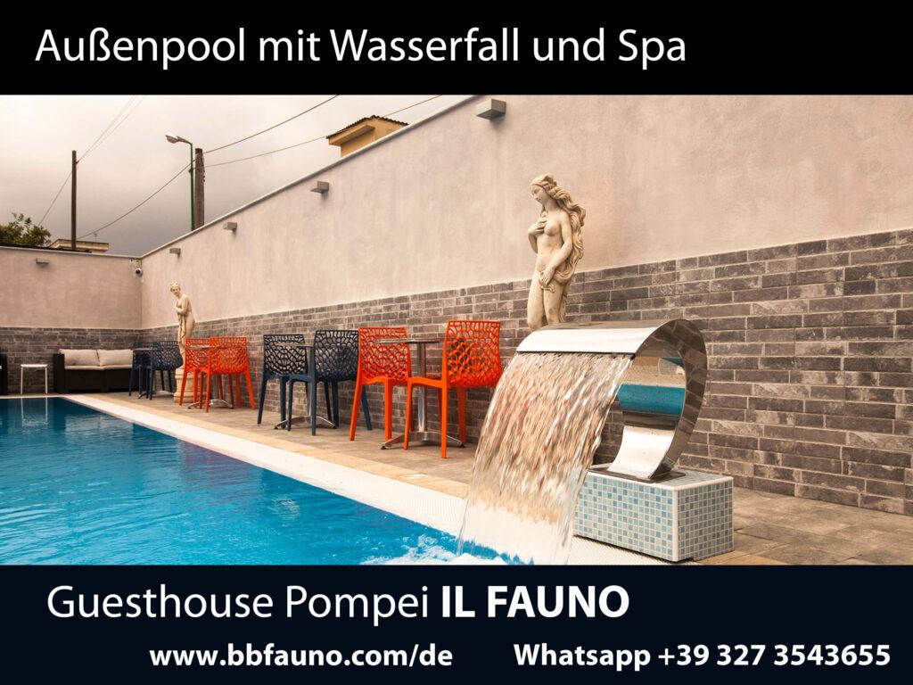 Schwimmbad Hotel Pompeji