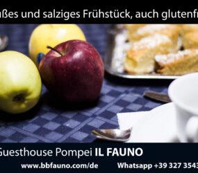 Pompeji Frühstück