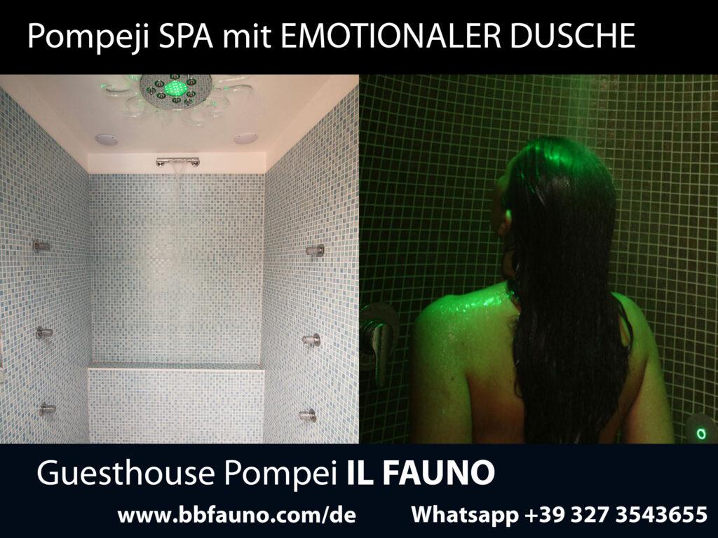 Hotel mit emotionaler Dusche Pompeji
