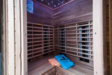 Dreifachtherapie-Sauna