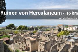 Ruinen von Herculaneum - 16 km