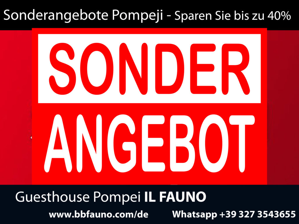 Sonderangebote Pompeji