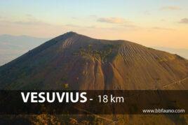 Vesuv - 18 km