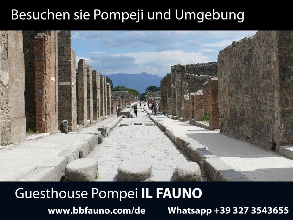 Was in Pompeji und Umgebung zu besuchen