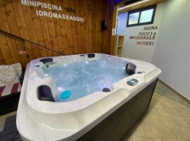 Ein privates Spa mit Whirlpool in Pompeji