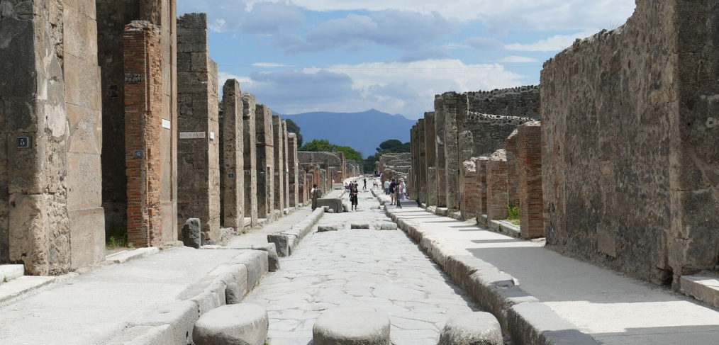 Archaeological sites Pompeii