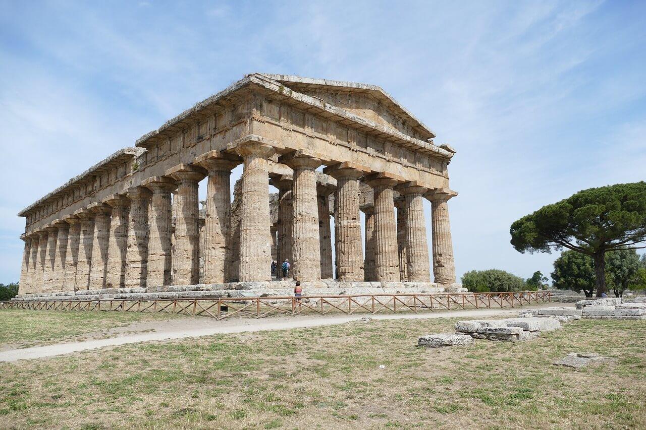 Paestum Archaeological Site Temples Of Paestum B Amp B