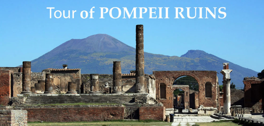 Tour guided Pompeii Ruins