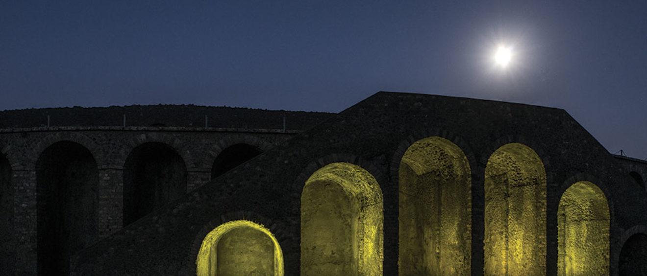 Pompeii by night