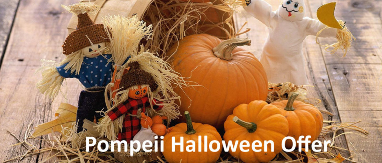 Pompeii Halloween Offer