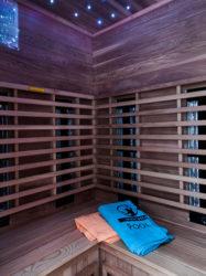Pompeii Guesthouse sauna