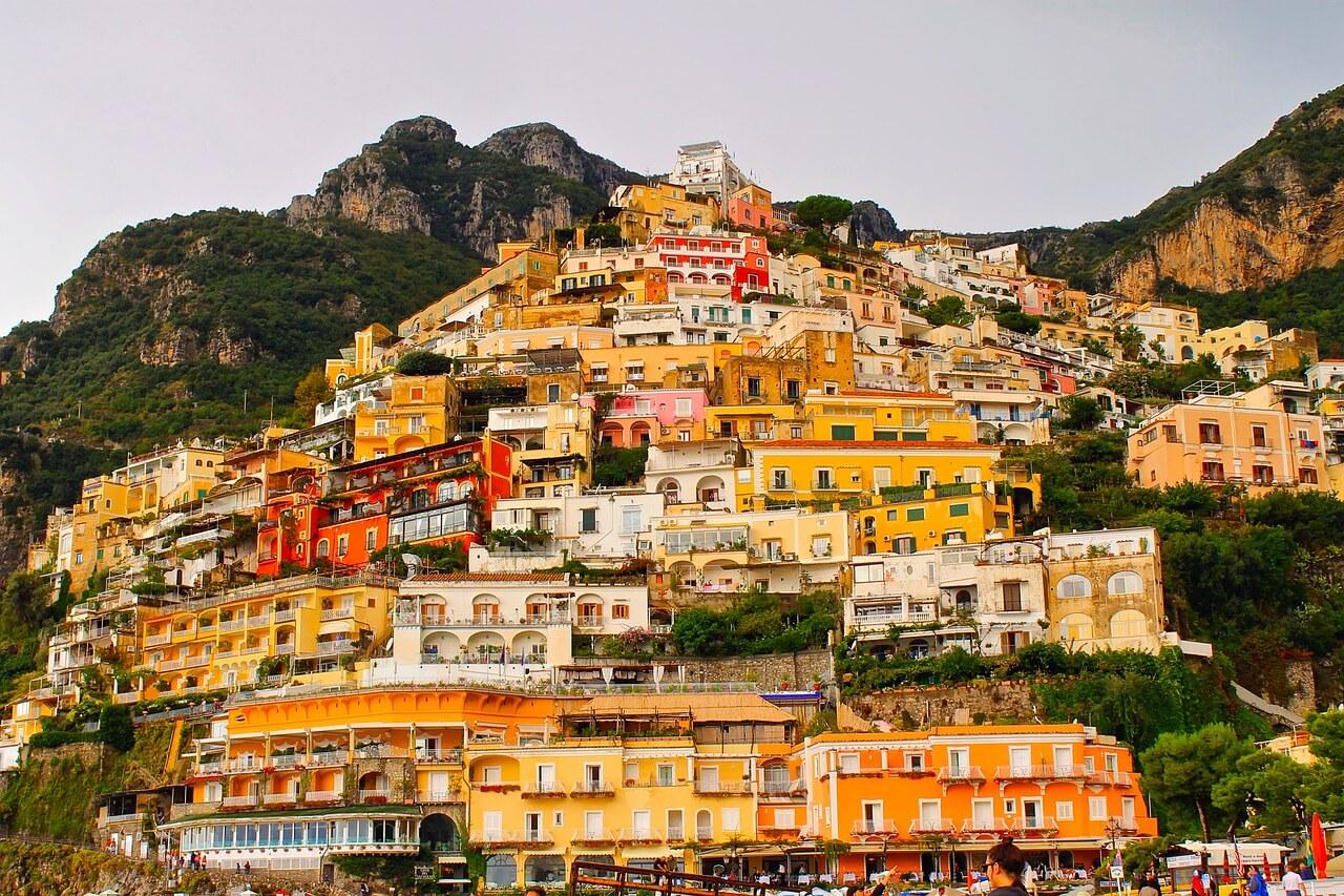 Amalfi coast visit positano and ravello booking hotel b for Amalfi to positano