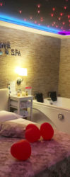 Pompeii Suite with private SPA