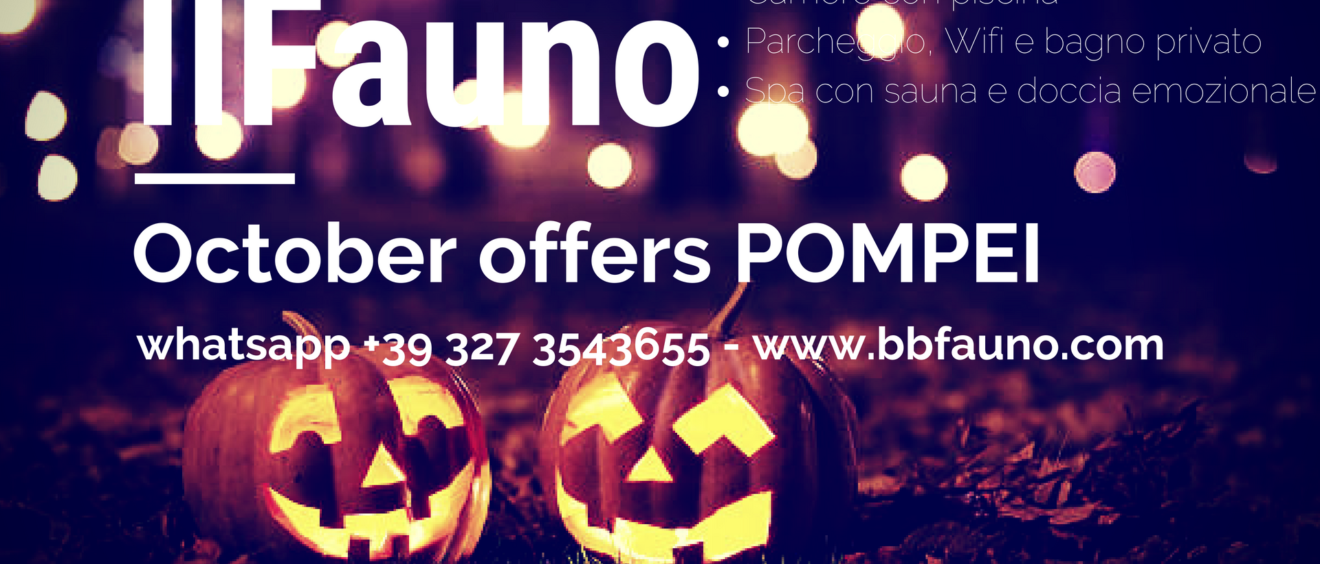 Offers beb pompei October 2018