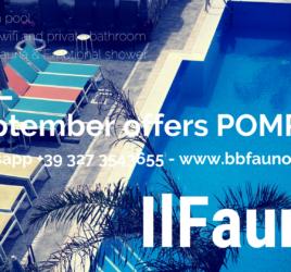 Offers beb pompei September 2018