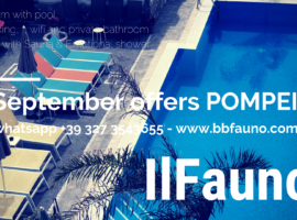 Offers beb pompei September 2018