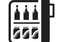 Minibar (free water)