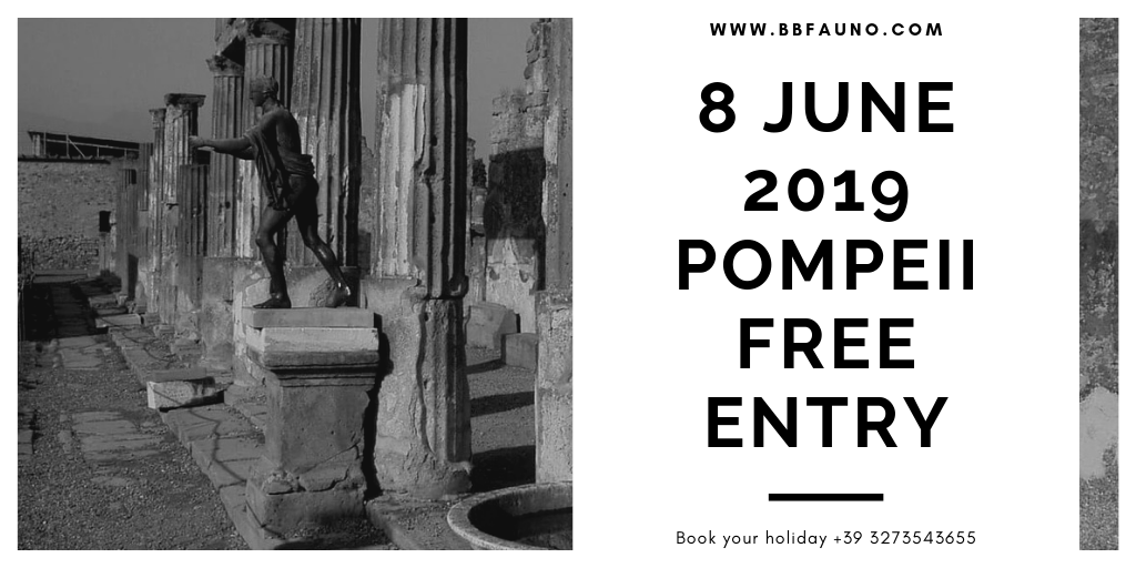 8 June 2019 Pompeii excavations Free