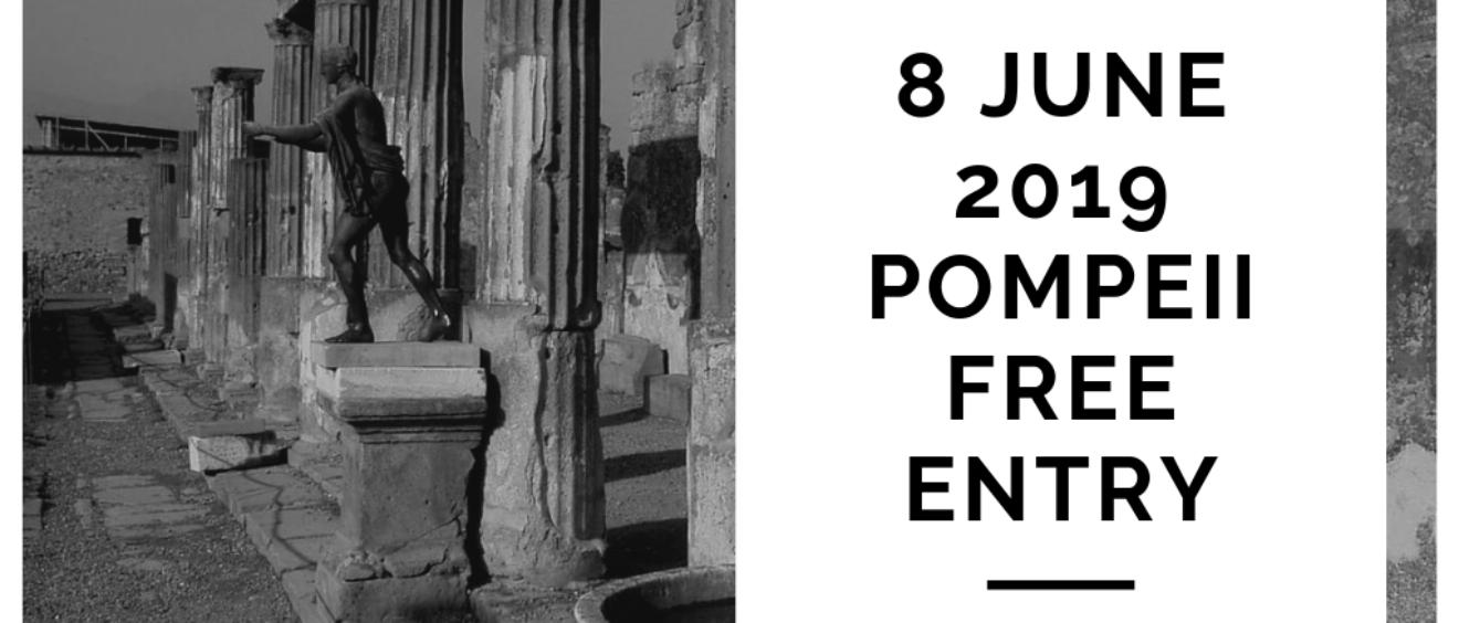8 June 2019 Pompeii excavations Free