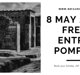 8 May 2019 free entry Pompeii