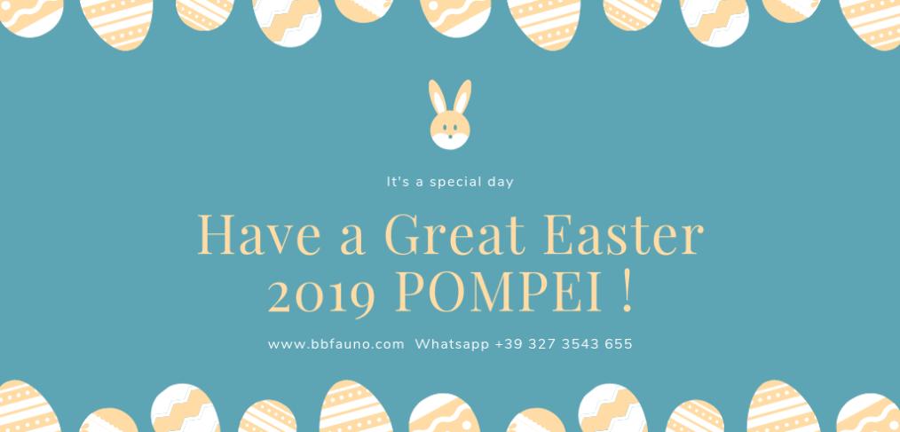Easter 2019 Pompeii