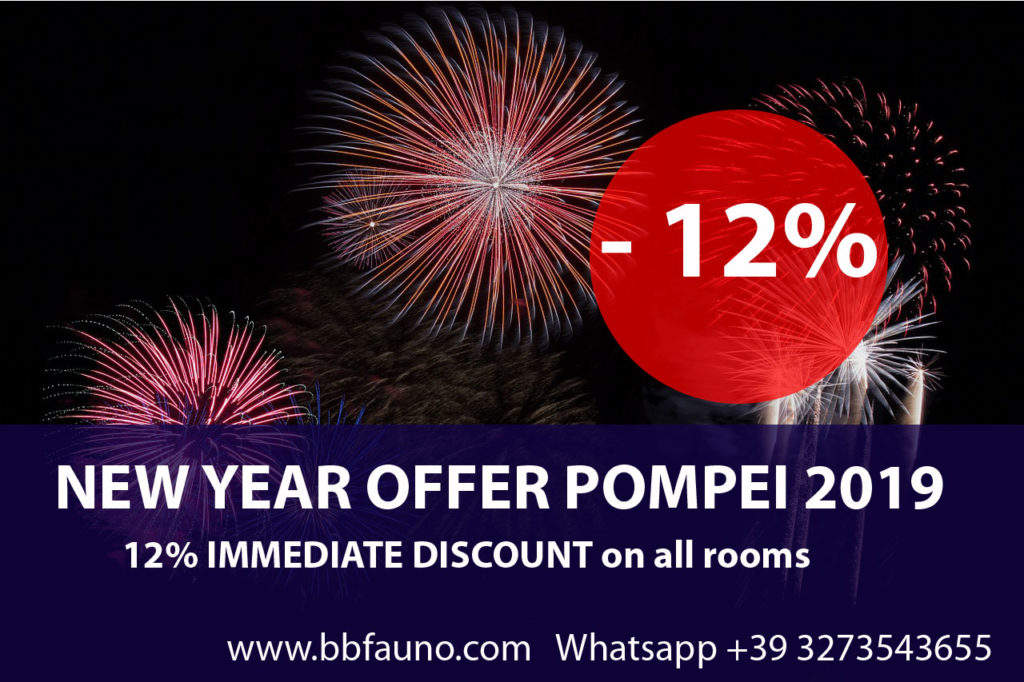 New Year Offer Pompei 2019