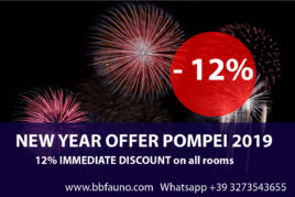 NEW YEAR OFFER POMPEI - 12%