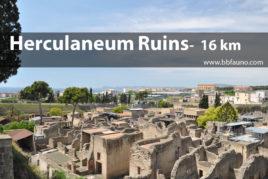 Excavations of Herculaneum - 16 km