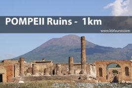 Pompeii Ruins - 1 km