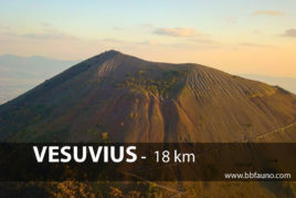 Vesuvius - 18 km