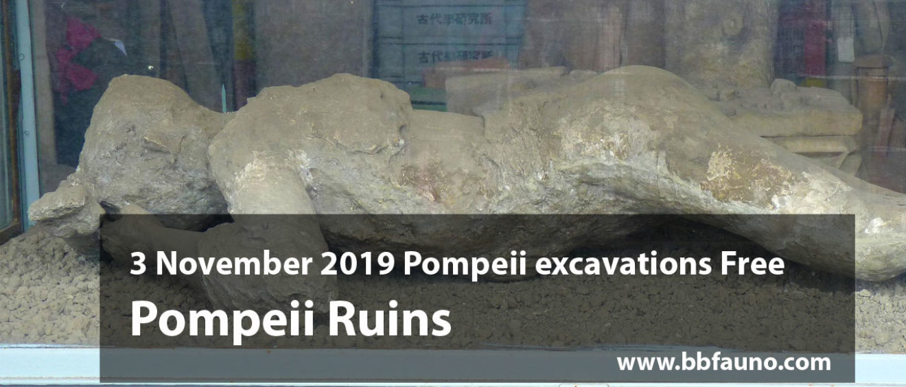 3 November 2019 Pompeii excavations Free