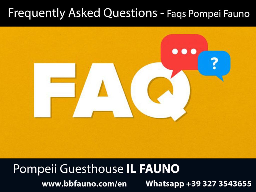 FAQs Pompeii Fauno