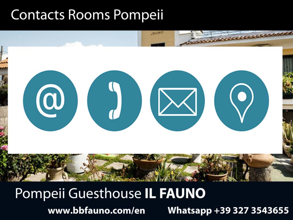 Pompeii Hotel Contacts