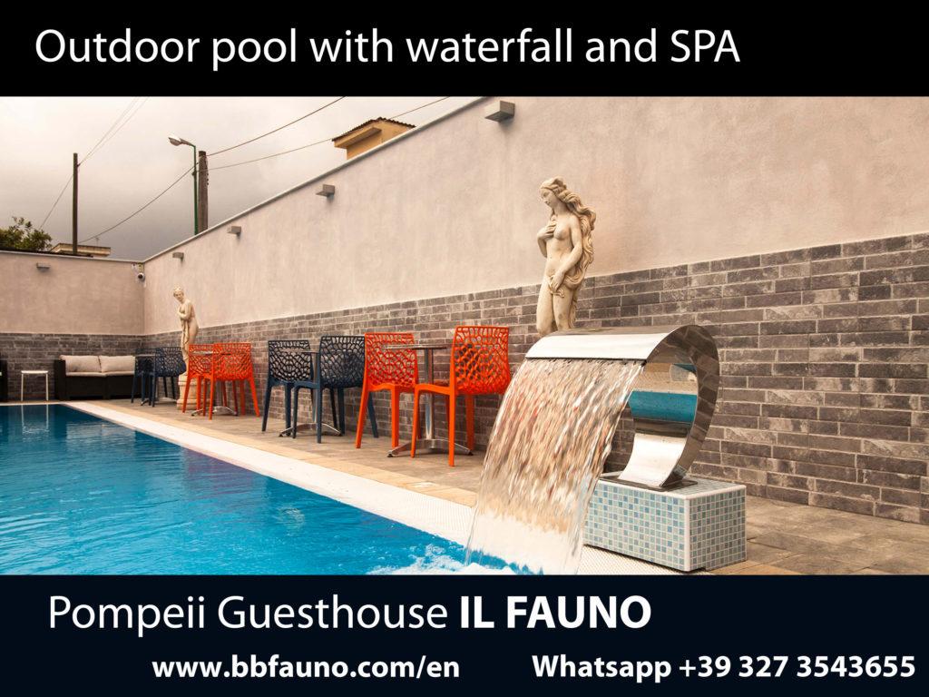 Pompeii hotel infinity pool