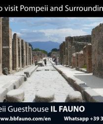 Visit Pompeii surroundings