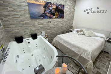 Suite con bañera hidromasaje