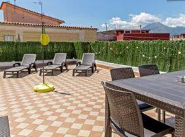 Pompei apartamento con terraza y vistas del Vesubio