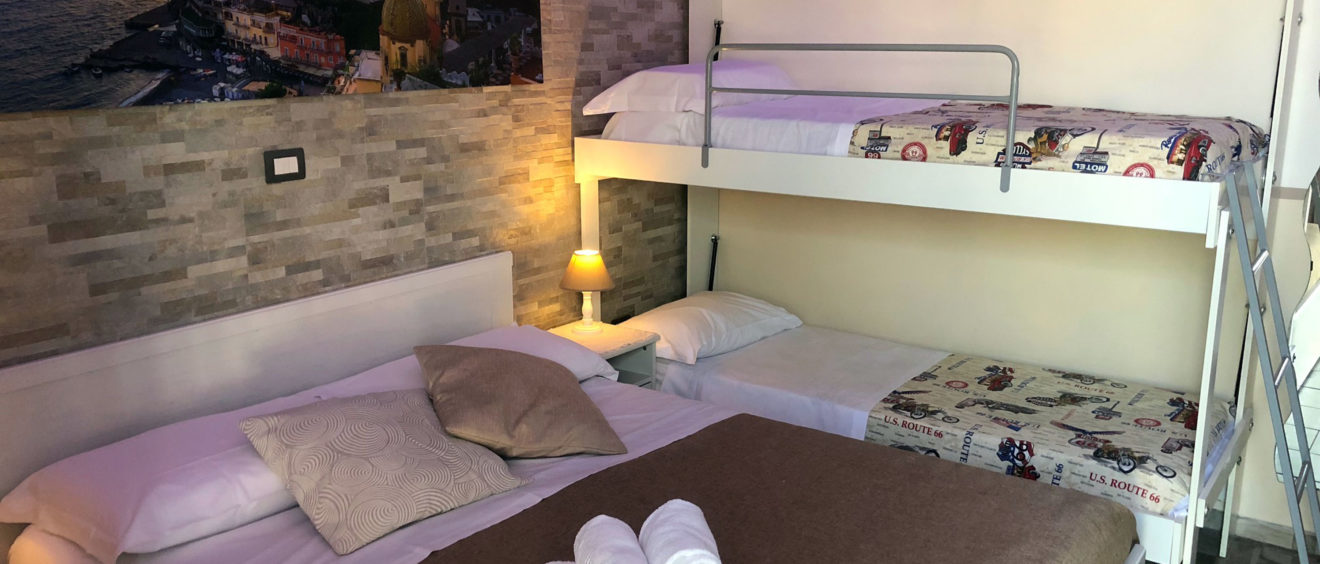 Habitación Cuádruple Pompeya