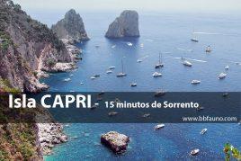 Capri - a 15 minutos de Sorrento