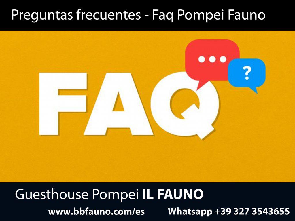 Preguntas frecuentes Pompeya