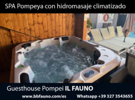 SPA Pompeya con hidromasaje climatizado