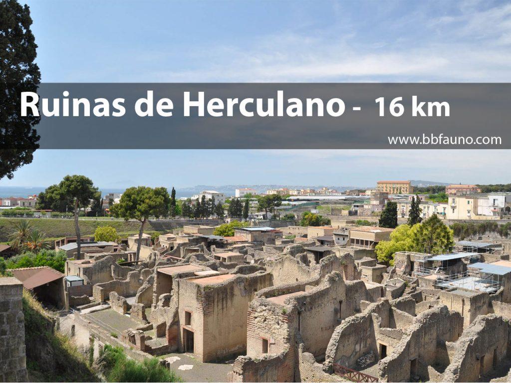 Excavaciones de Herculano